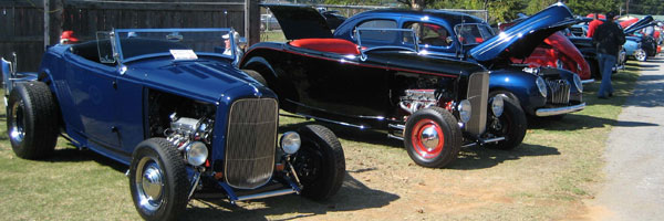 Car show at Jim Miller Park