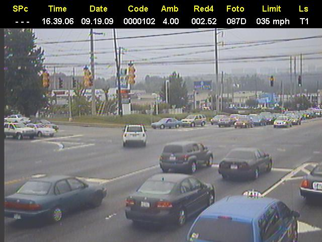 Red Light Camera Photo