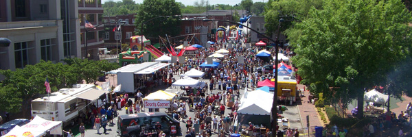 2010 Taste of Marietta in Marietta Square
