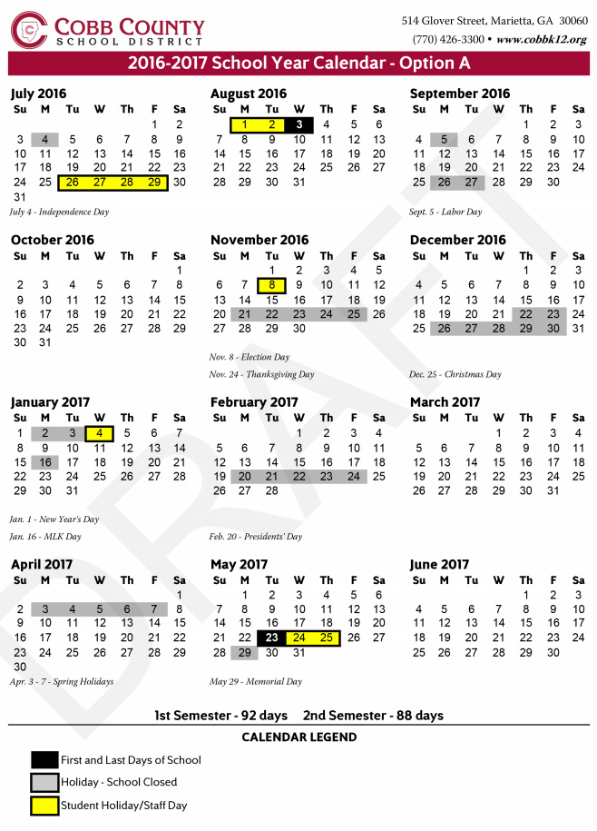 cobb-county-school-calendar-2016-not-approved