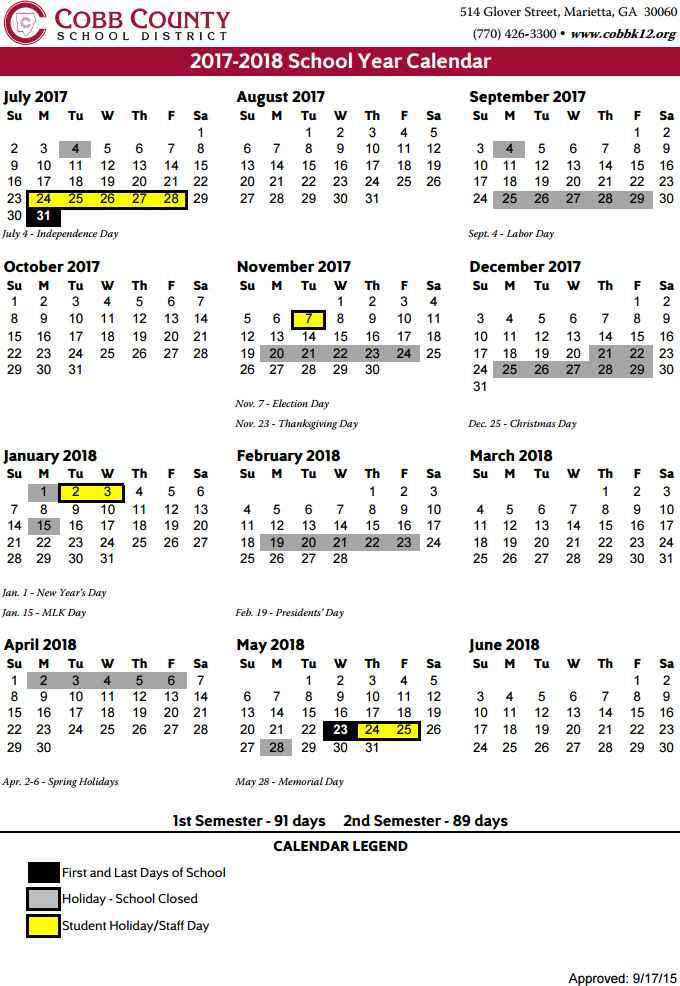 School Calendar. Downloadable Pdf Calendars Academic Calendar