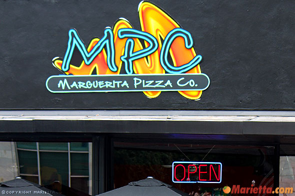 Marietta Pizza Company was transformed into the Margueretta Pizza Company