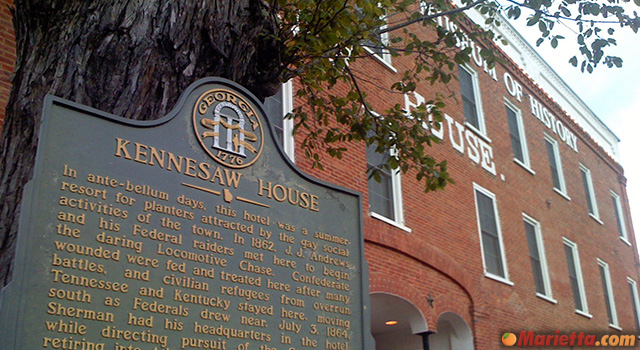 marietta-museum-of-history-kennesaw-house-sign
