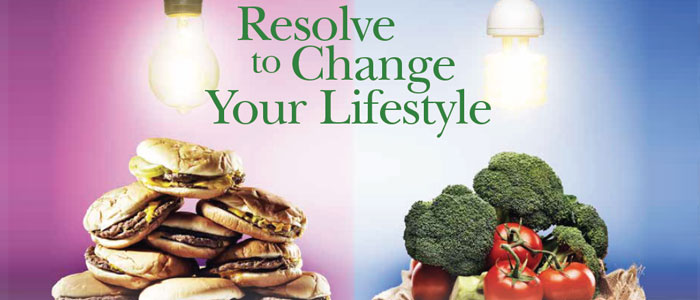 Resolve to Change Your Lifestyle