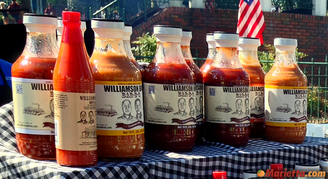 BBQ Sauces from Williamson Bros.