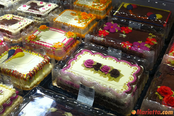 cakes at whole foods